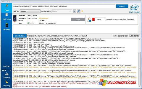 Ekrano kopija FlashBoot Windows XP