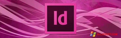 Ekrano kopija Adobe InDesign Windows XP