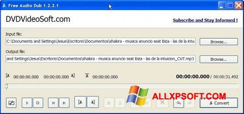 Ekrano kopija Free Audio Dub Windows XP