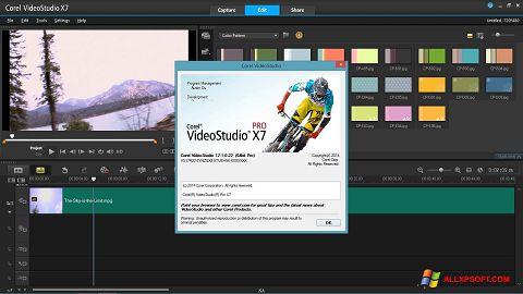 Ekrano kopija Corel VideoStudio Windows XP