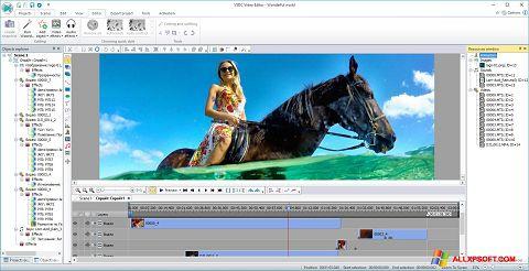 Ekrano kopija Free Video Editor Windows XP