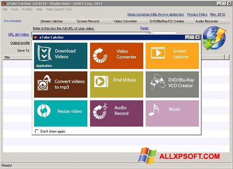 Ekrano kopija aTube Catcher Windows XP
