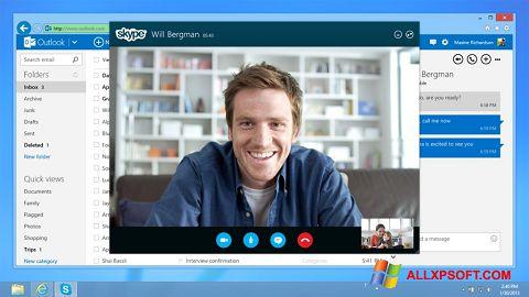 Ekrano kopija Skype Windows XP