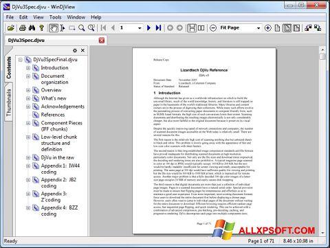 Ekrano kopija WinDjView Windows XP