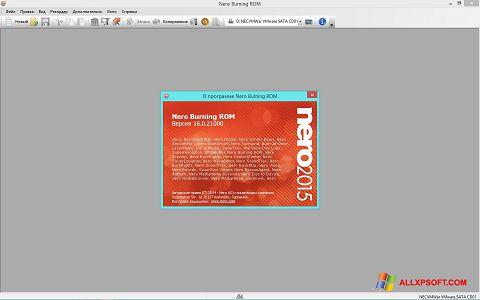 Ekrano kopija Nero Windows XP