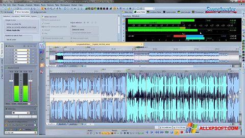 Ekrano kopija WaveLab Windows XP